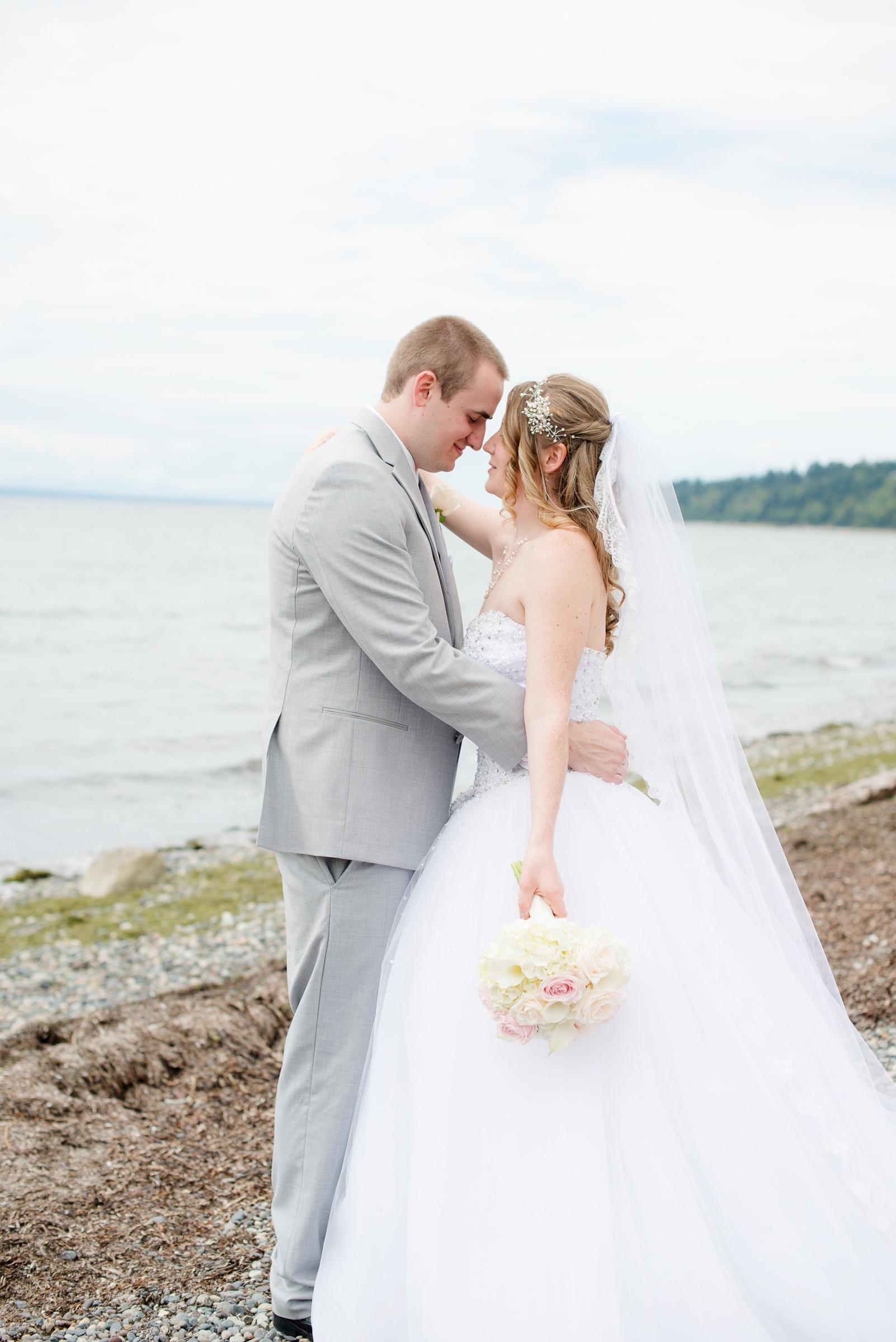 bridal hair piece beach theme