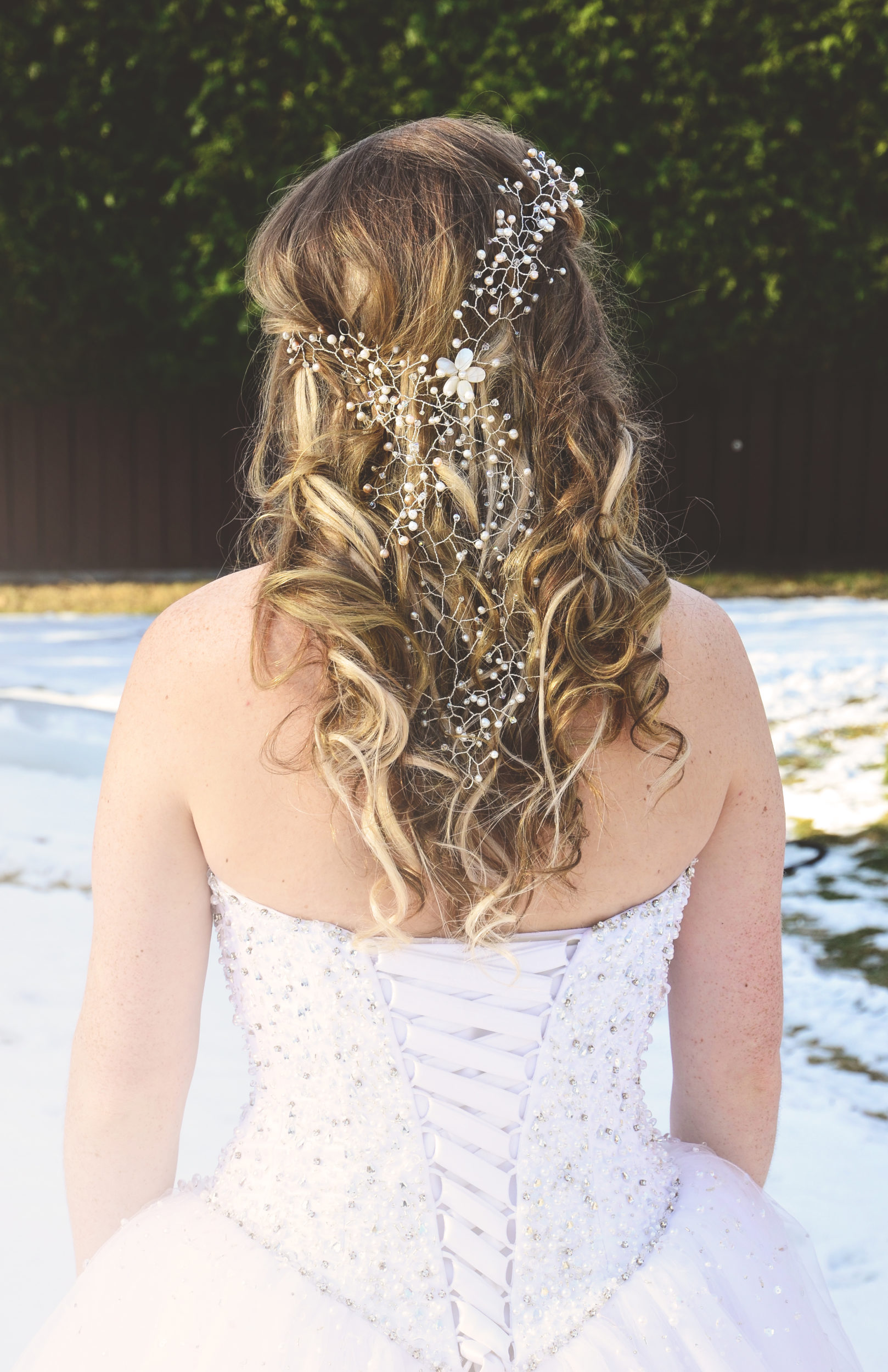 wedding hair ideas hair jewelry